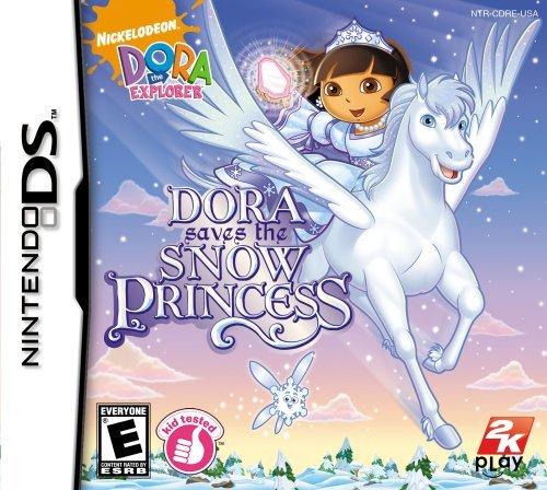 Dora the Explorer Dora Saves the Snow Princess - Nintendo DS by 2K