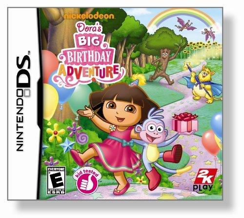 Dora the Explorer Doras Big Birthday Adventure - Nintendo DS by 2K Games