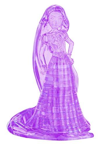 BePuzzled Original 3D Crystal Rapunzel Puzzle 39 Piece Purple
