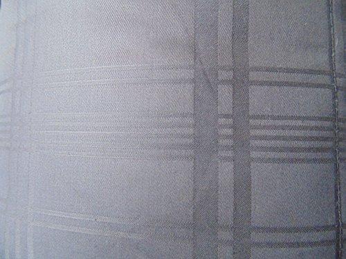 Northern Nights Windowpane 100 Cotton Down Blanket King Dark Gray