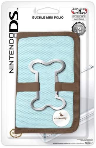 DS Lite Buckle Mini Folio Nintendogs Turquoise Nintendo DS