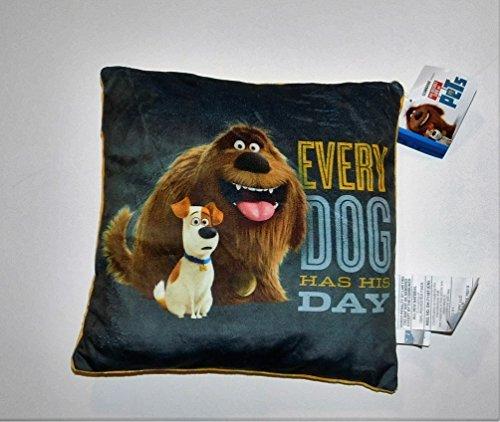 11The Secret Life of Pets Movie Max Duke Pillow