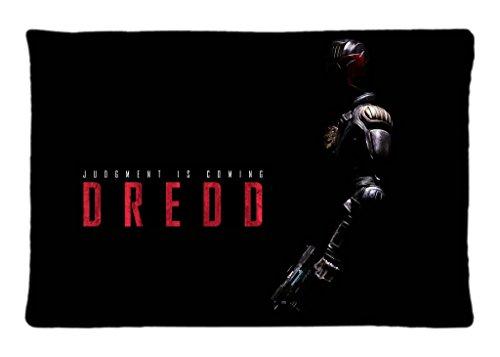Dredd 2012 Movie Pillowcase Two Side Standard Size 20X30 Design Pillow Case Cover