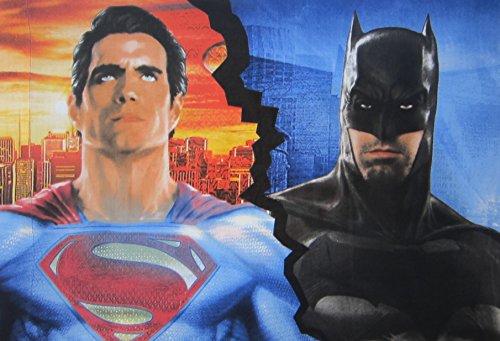 Batman v Superman Worlds Finest Microfiber Pillowcase Only Size STANDARD Boys Girls Kids Bedding