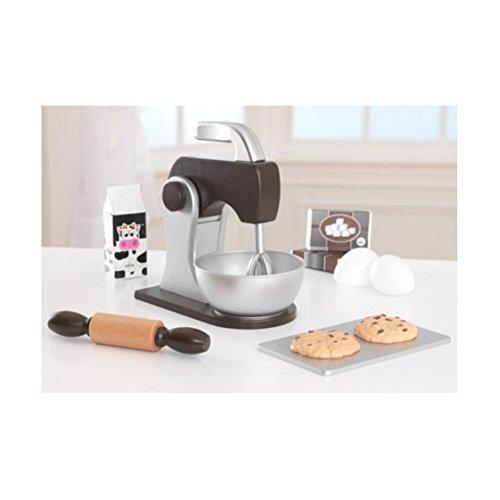 KidKraft Baking Set Play Kitchen Set Espresso