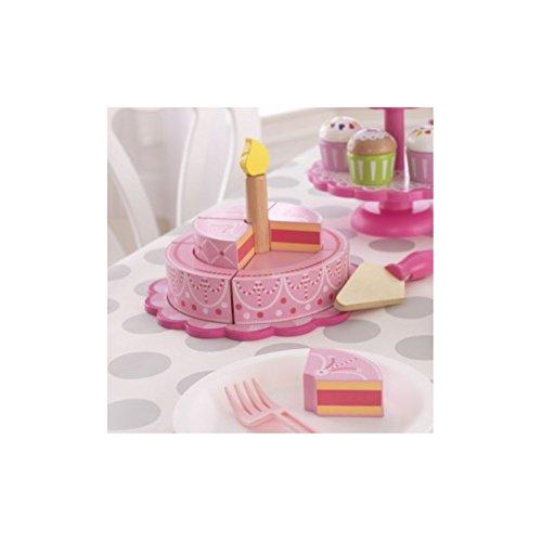 KidKraft Tiered Celebration Cake Play Kitchen Set Pink