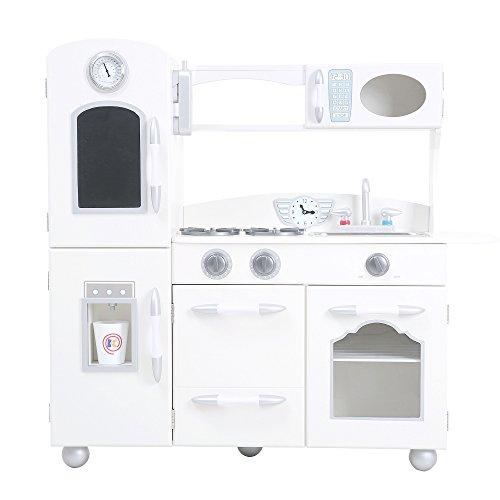 Wooden Play Kitchen Set Kids Play Kitchen Set White