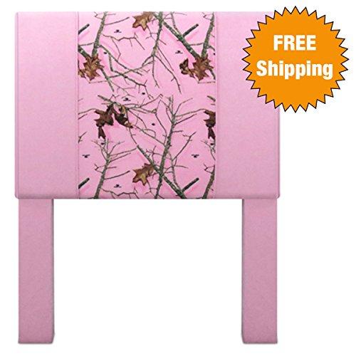 Mossy Oak Native Living PinkBubblegum Pink Twin-size Headboard