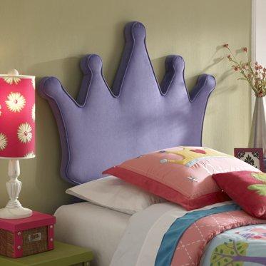 Princess Crown Twin Size Headboard