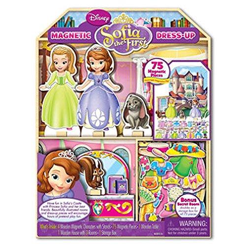 Disney Sophia Wooden Magnetic Doll Playhouse