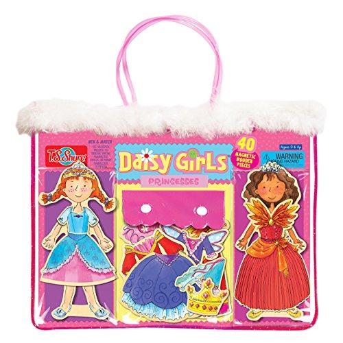 TS Shure Daisy Girls Princesses Wooden Magnetic Dolls