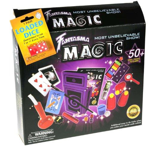 Fantasma Most Unbelievable Magic Show Kit _ Plus Bonus Loaded Dice