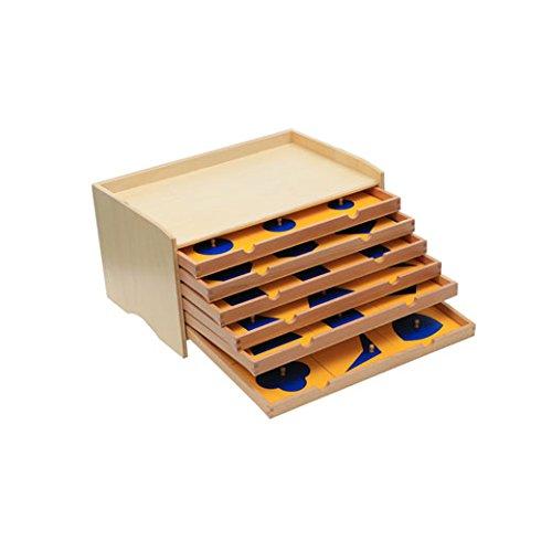 Geometric Cabinet Blue