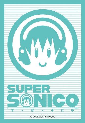 Nitro Super Sonico Child Logo Mark Character Card Mini Sleeves Nitroplus Broccoli Anime Game TCG CCG YuGiOh Vanguard