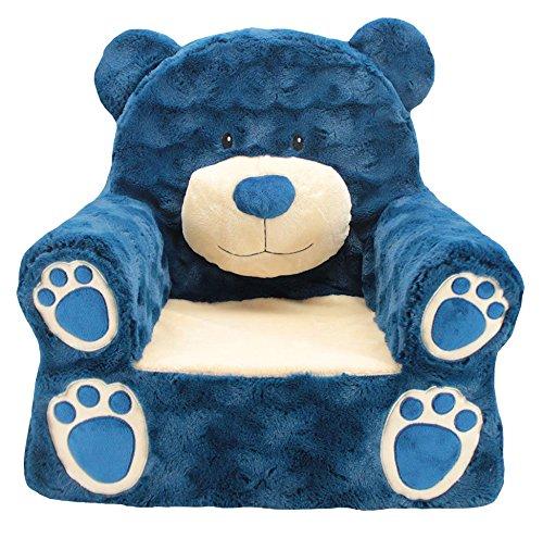 Sweet Seats Bear Plush Navy One Size