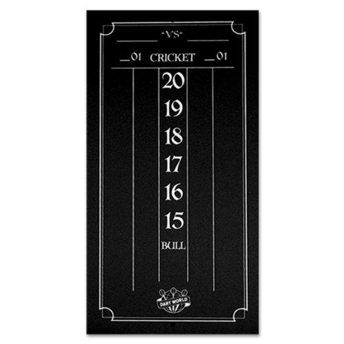 Dart World Cricketeer Mini Scoreboard Black