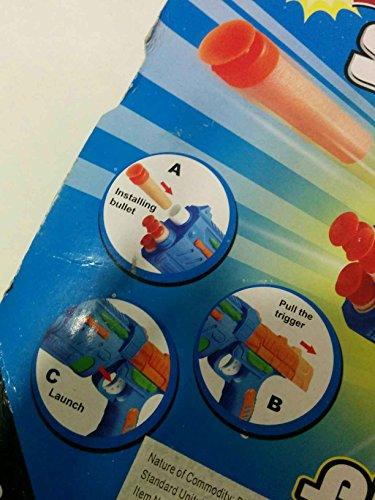 Game  Play Nerf N-Strike Elite Strongarm Blaster Dart Game Target Toy Gun Bullets Shooter Accessories Toy  Child  Kid