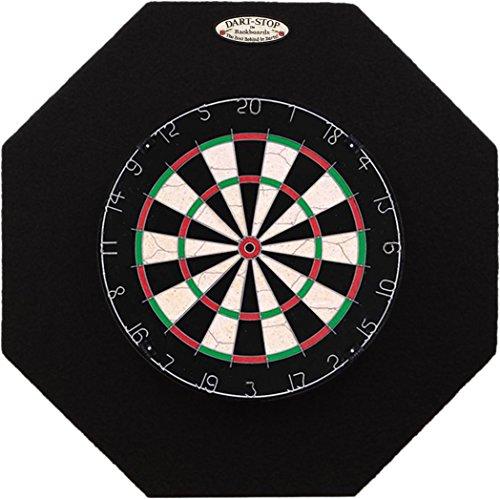 Pro-Series 29 inch Dartboard Backboard Octagonal Black