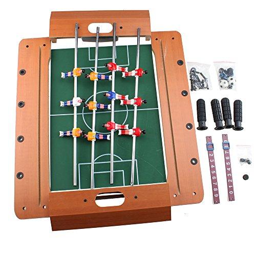 AGPtek 20 Mini Table Top Foosball Table Game Set Miniature Foosball Table Tabletop Soccer 503510cm