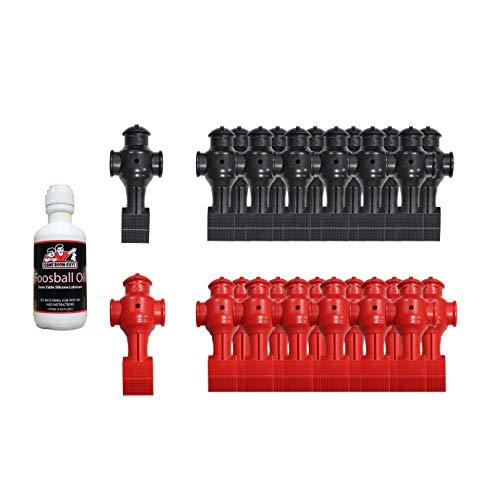 Game Room Guys Foosball Oil with Full Set Shelti Foosball Men