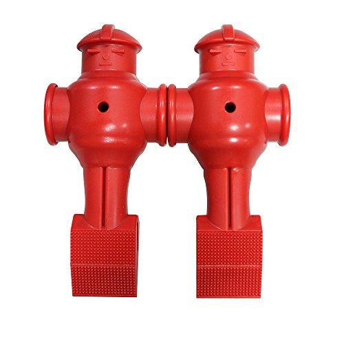 Shelti Foosball Men Red - Set of 2