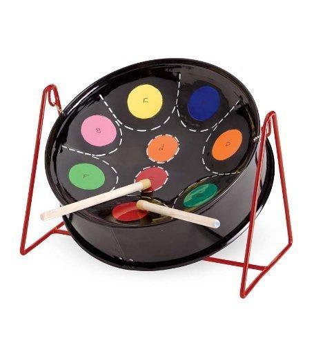 Tabletop Mini C Pan Drum Steel - Black - 11-12