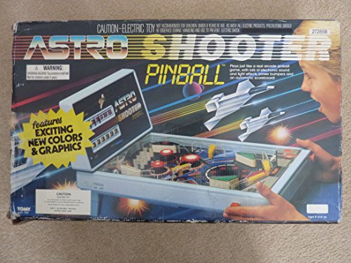 Vintage Astro Shooter Electronic Pinball Machine RARE