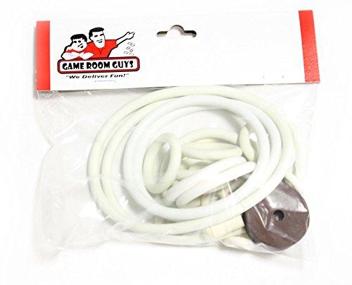 Gottlieb Road Race Pinball White Rubber Ring Kit