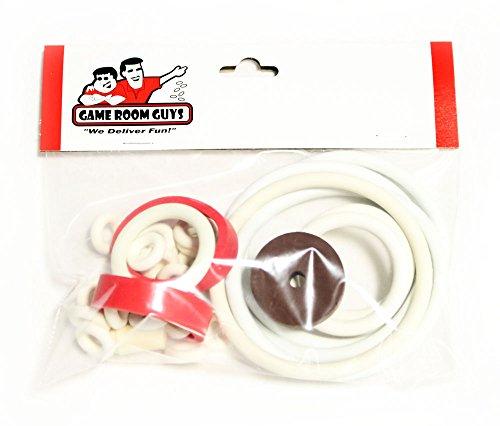 Williams Gulfstream Pinball White Rubber Ring Kit
