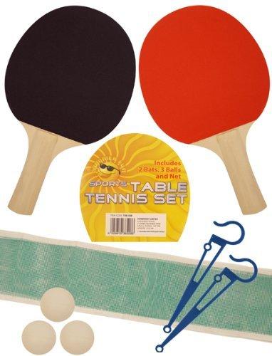2 PLAYER TABLE TENNIS SET 2 Bats Net 3 Balls ping pong set by MY