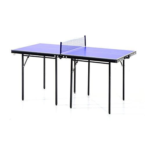 Aosom 5 Folding IndoorOutdoor Table Tennis Table