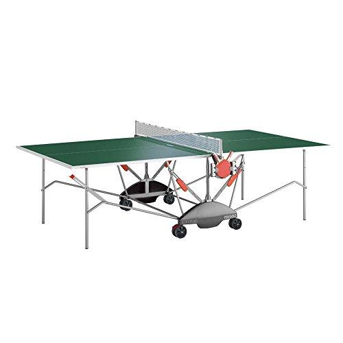 Kettler Match 50 IndoorOutdoor Table Tennis Table Green Top
