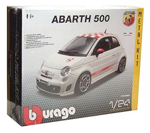 Burago Fiat 500 Abarth 2008 124 Model Kit