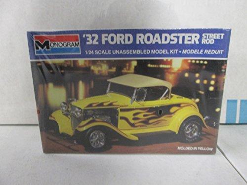 Monogram 32 Ford Roadster Street Rod 124 Model Kit