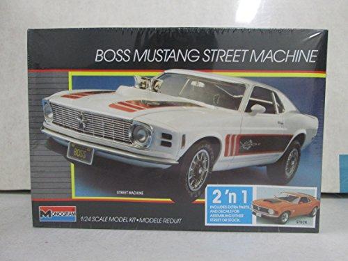 Monogram Boss Mustang Street Machine 124 Model Kit