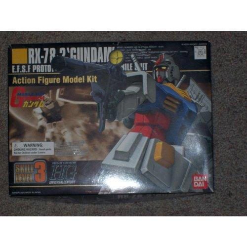 RX-78-2 Gundam EFSF Prototype Close-Combat Mobile Suit Action Figure Model Kit