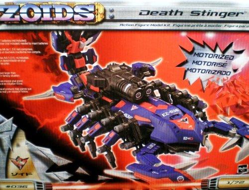 Zoids Death Stinger Action Figure Model Kit-Motorized