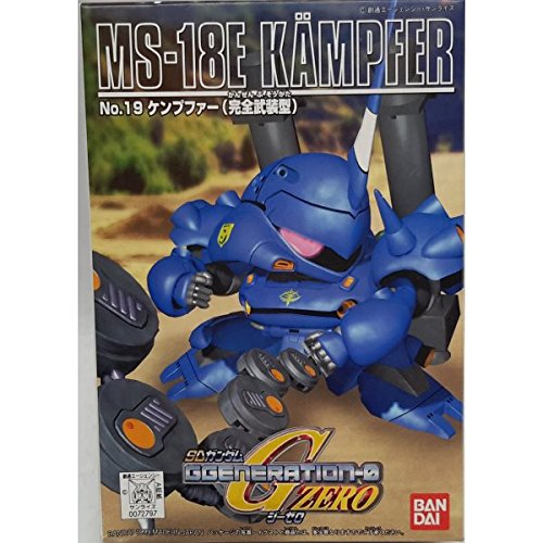 Gundam SD-019 MS-18E Kampfer Bandai Model Kit