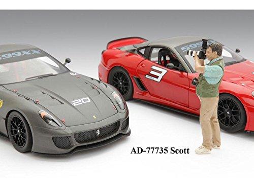 Camera Man Scott Figure American Diorama Figurine 77735 - 118 scale