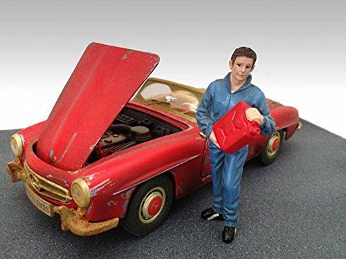 Mechanic Dan Figure Blue - American Diorama Figurine 23792 - 118 scale