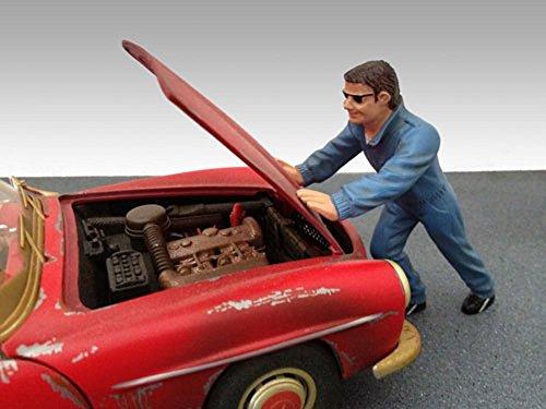 Mechanic Ken Figure Blue - American Diorama Figurine 23790 - 118 scale