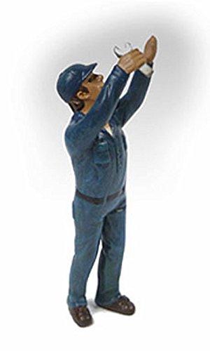 Mechanic at Work Steve Figure Blue - American Diorama Figurine 23907 - 124 scale