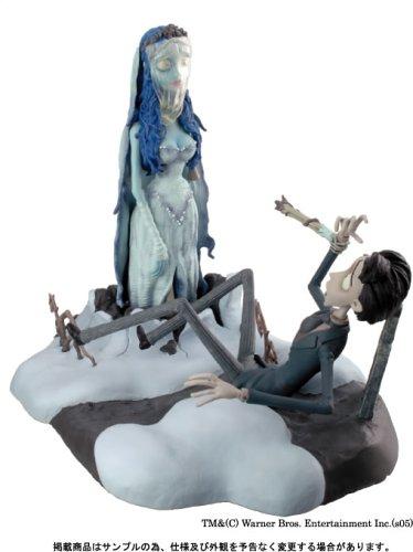 Tim Burtons Corpse Bride Diorama Figurine Victor Bride Emily Figure Statue