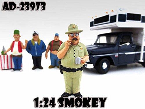 Trailer Park Figures Series 1 Smokey American Diorama Figurine 23973 - 124 scale