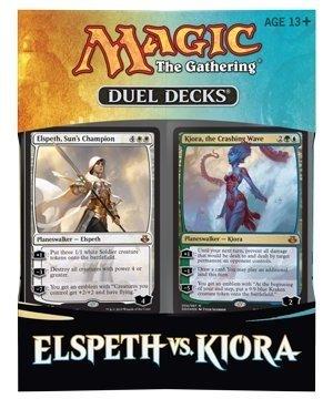 ELSPETH vs KIORA - MTG Magic the Gathering 2015 Duel Decks Box Set - 120 cards