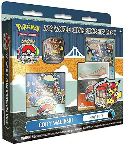 Pokemon 2016 World Championship Deck Cody Walinski Ninja Blitz Deck