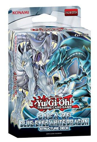 Yugioh Structure Deck Saga of Blue-Eyes White Dragon Sealed