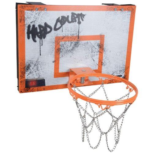 Franklin Sports Electronic Hard Court Basketball Set