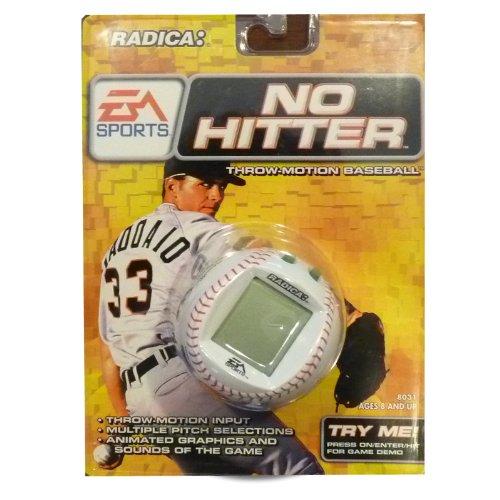 Radica No Hitter Throw-Motion Baseball EA Sports Electronic Handheld Game LCD