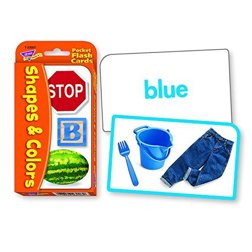 Colors Shapes Pocket Flash Cards